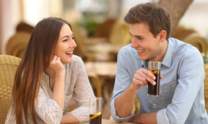 couple having a healthy conversation