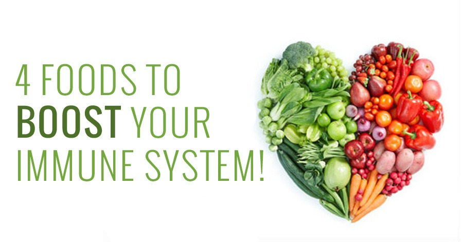 4 foods to boost your immune system