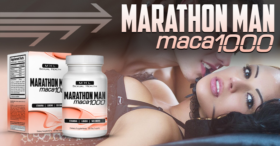 Marathon Man Maca 1000 – Want To Go All Night?