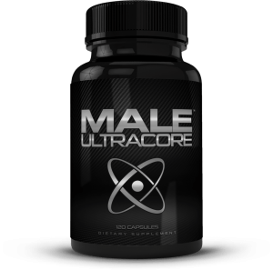 bottle of male ultracore