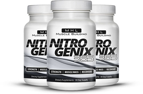 NitroGenix 365 – The All Time #1 Muscle Building Supplement You Want and Need!!!