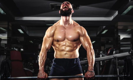workout of a body builder