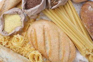 white bread and white pasta, less nutrition
