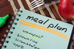 meal plan, eat healthy