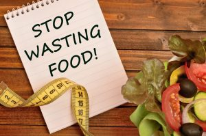 stop wasting food, eat healthy