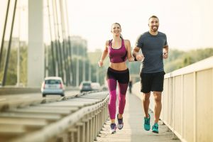 couple running, exercise
