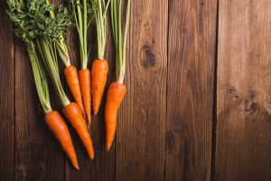 winter vegetables, carrots