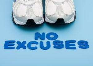 running shoes no excuses