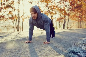 HOW TO BURN MORE FAT: EXERCISE IN THE COLD
