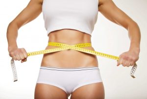 flatter stomach from weight loss