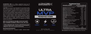 Ultra MVP Review by UltraCore Supplements: Is This Multivitamin Supplement Worth Buying?